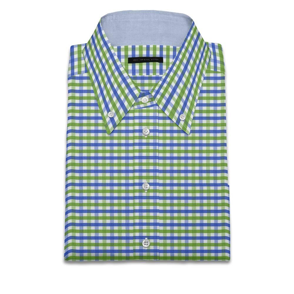 Original stitch green checkered shirt dress shirt for Original stitch shirt review