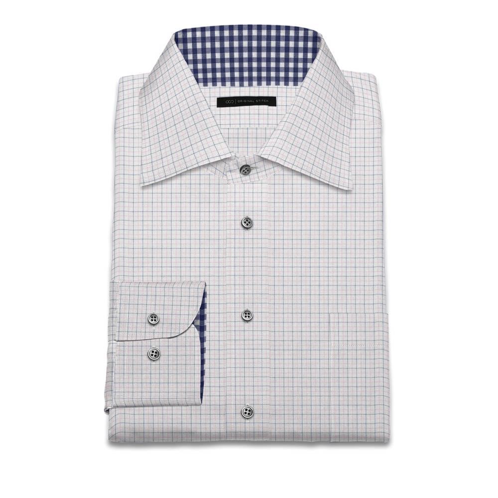 Original stitch blue checkered shirt dress shirt for Original stitch shirt review