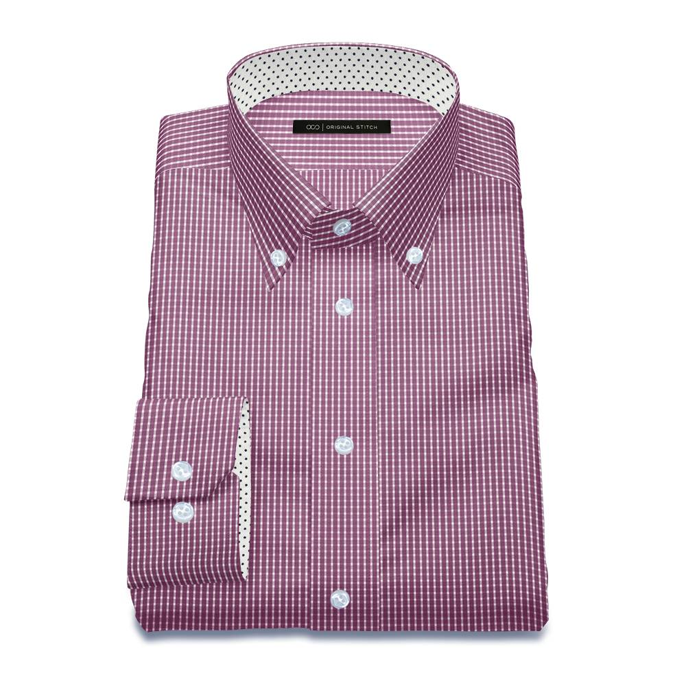 Original stitch purple checkered shirt dress shirt for Original stitch shirt review